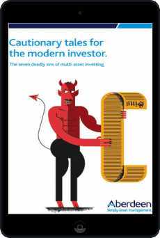 Cover of Cautionary tales for the modern investor by Aberdeen Asset Management
