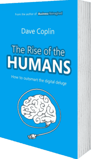 Cover of The Rise of the Humans by Dave Coplin
