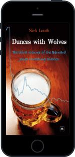 Cover of Dunces with Wolves by Nick Louth