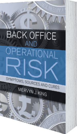 Cover of Back Office and Operational Risk by Mervyn J. King