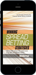 Cover of Winning spread betting strategies by Malcolm Pryor
