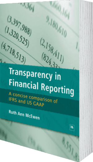 Cover of Transparency in Financial Reporting by Ruth Ann McEwen
