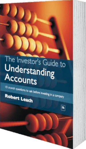 Cover of The Investor's Guide to Understanding Accounts by Robert Leach