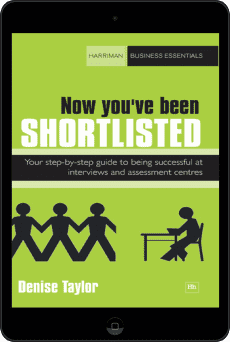 Cover of Now you've been shortlisted by Denise Taylor