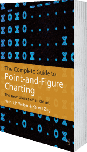 Cover of The Complete Guide to Point-and-Figure Charting by Kermit Zieg and Heinrich Weber
