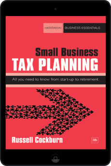 Cover of Small Business Tax Planning by Russell Cockburn