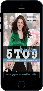 Cover of Working 5 to 9 by Emma Jones