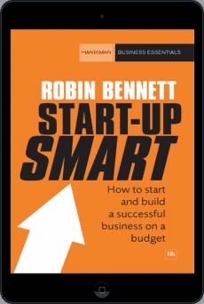 Cover of Start-up Smart by Robin Bennett