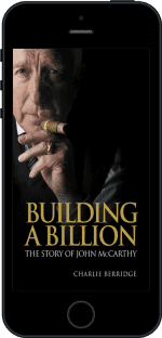Cover of Building a Billion by Charlie Berridge