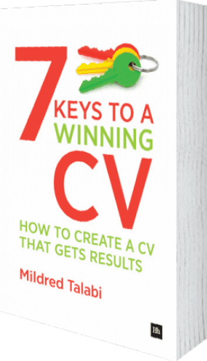 Cover of 7 Keys to a Winning CV by Mildred Talabi