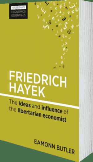 Cover of Friedrich Hayek by Eamonn Butler