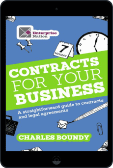 Cover of Contracts for Your Business by Charles Boundy