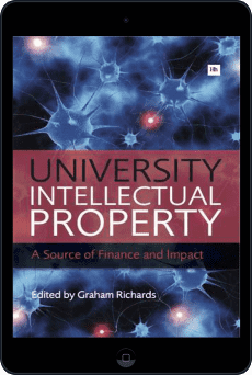 Cover of University Intellectual Property by Graham Richards