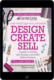 Cover of Design Create Sell by Alison Lewy