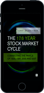 Cover of The 17.6 Year Stock Market Cycle by Kerry Balenthiran
