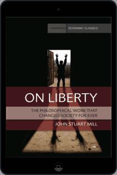Cover of On Liberty by John Stuart