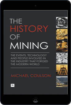 Cover of The History of Mining by Michael Coulson