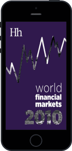 Cover of World Financial Markets in 2010 by George G. Blakey