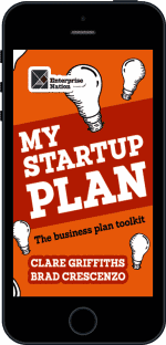 Cover of My Start-Up Plan by Clare Griffiths andBrad Crescenzo