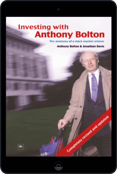 Cover of Investing with Anthony Bolton by Jonathan Davis andAnthony Bolton