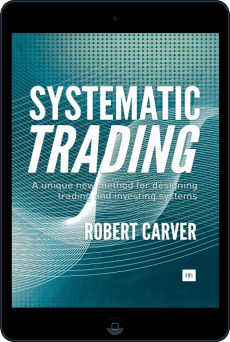 Cover of Systematic Trading by Robert Carver