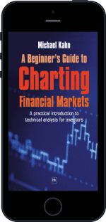 Cover of A Beginner's Guide to Charting Financial Markets by Michael Kahn