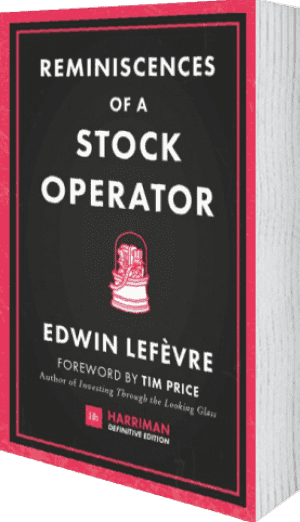 Cover of Reminiscences of a Stock Operator (Harriman Definitive Editions) by Edwin Lefevre