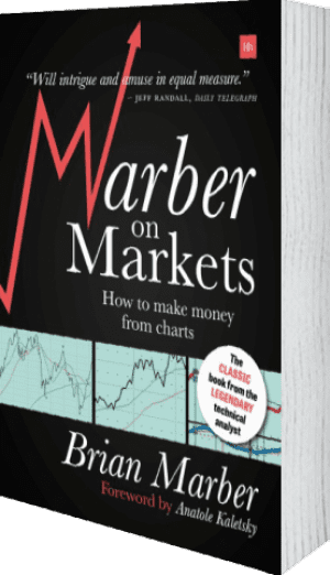 Cover of Marber on Markets by Brian Marber