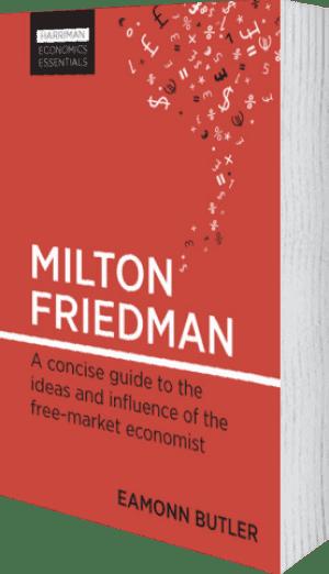 Cover of Milton Friedman by Eamonn Butler