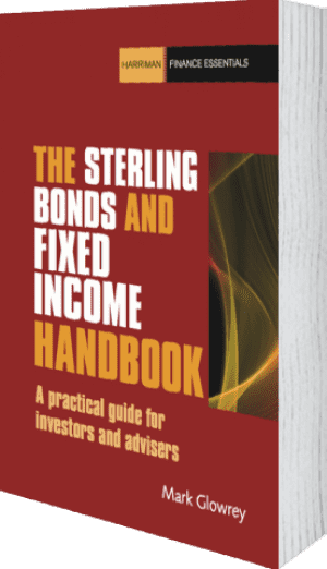 Cover of The Sterling Bonds and Fixed Income Handbook by Mark Glowrey