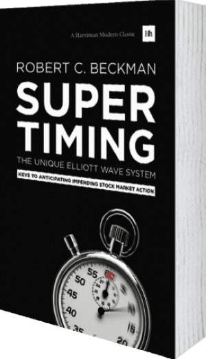 Cover of Supertiming: The Unique Elliott Wave System by Robert C. Beckman