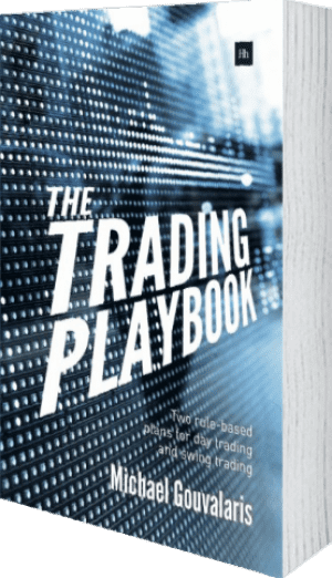 Cover of The Trading Playbook by Michael Gouvalaris
