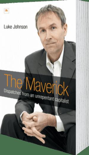 Cover of The Maverick by Luke Johnson