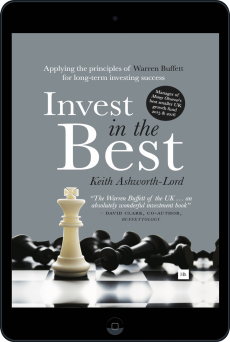 Cover of Invest in the Best by Keith Ashworth-Lord