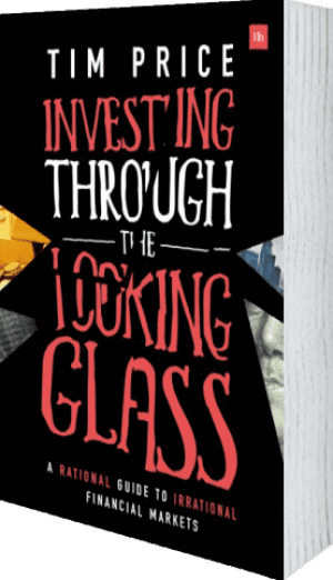 Cover of Investing Through the Looking Glass by Tim Price