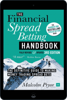 Cover of The Financial Spread Betting Handbook, 3rd edition by Malcolm Pryor