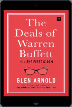 Cover of The Deals of Warren Buffett by Glen Arnold