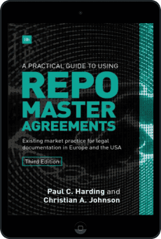Cover of A Practical Guide to Using Repo Master Agreements by Paul Harding and Christian Johnson
