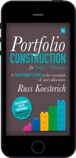 Cover of Portfolio Construction for Today's Markets by Russ Koesterich