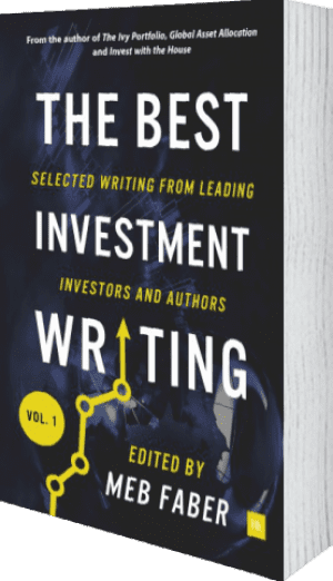 Cover of The Best Investment Writing by Meb Faber