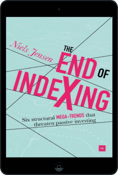 Cover of The End of Indexing by Niels Jensen