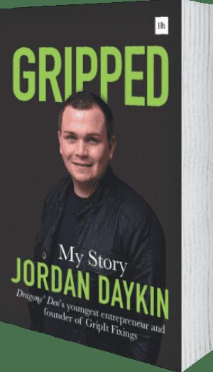 Cover of Gripped by Jordan Daykin