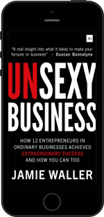 Cover of Unsexy Business by Jamie Waller