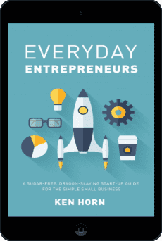 Cover of Everyday Entrepreneurs by Ken Horn