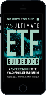 Cover of The Ultimate ETF Guidebook by David Stevenson and David Tuckwell