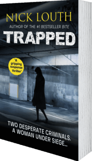 Cover of Trapped by Nick Louth