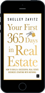 Cover of Your First 365 Days in Real Estate by Shelley Zavitz