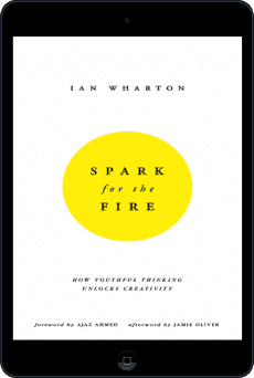 Cover of Spark for the Fire by Ian Wharton