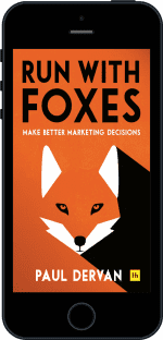 Cover of Run with Foxes by Paul Dervan