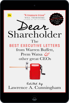 Cover of Dear Shareholder by Lawrence A. Cunningham